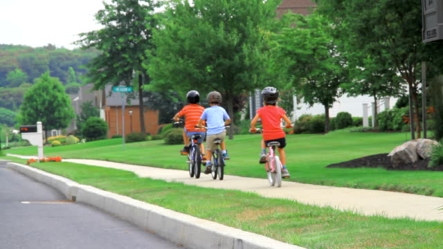 Sidewalk Biking video