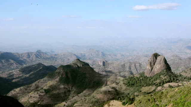 Siemen mountains in Ethiopia. video