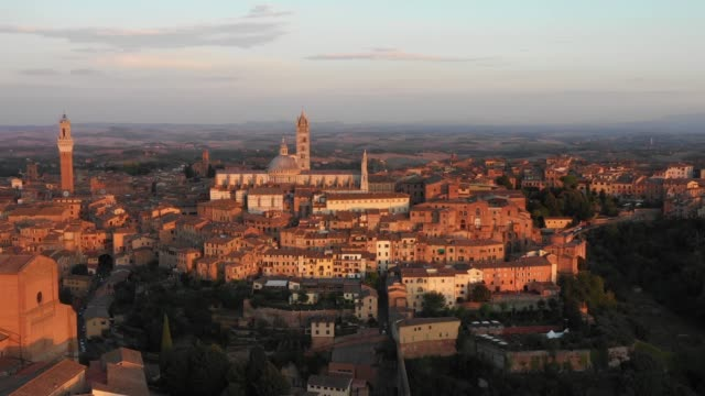 Siena at Sunset - Cinematic Shot