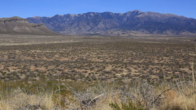 Sierra Blanca Mountain range video