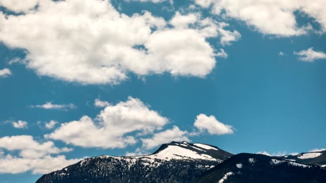 Sierra Nevada Mountains Time Lapse Clouds
