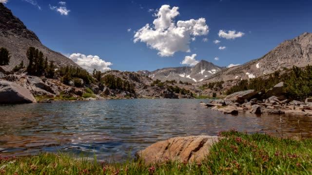 sierra summer lake - brent video stock e b–roll