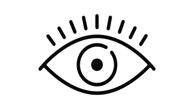 grafika ruchu linii wzroku - technika ilustracji filmów i materiałów b-roll