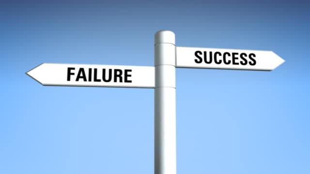 Sign 01 Success vs Failure video