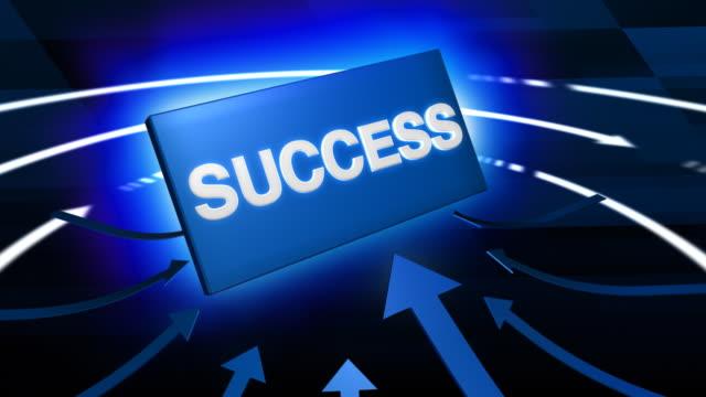 Sign Symbolizes Economical Success video