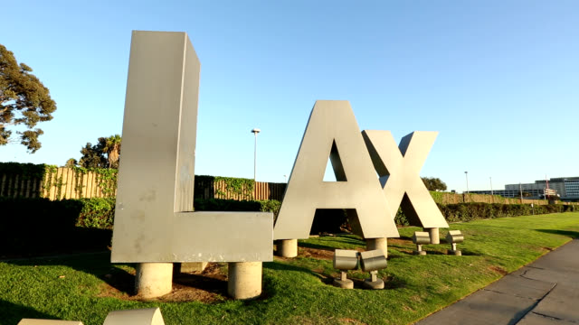 LAX sign video