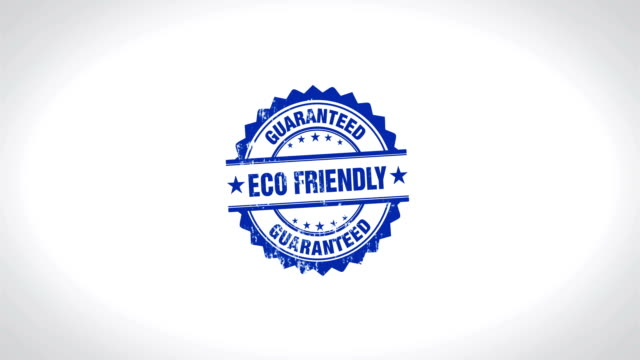 ECO FRIENDLY Signed Stamping Text Wooden Stamp Animation. Wooden Stamp Animation. housing logo stock videos & royalty-free footage