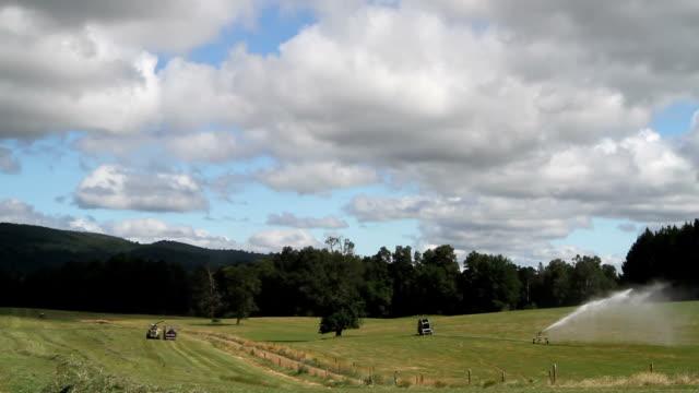 silage farm activity video