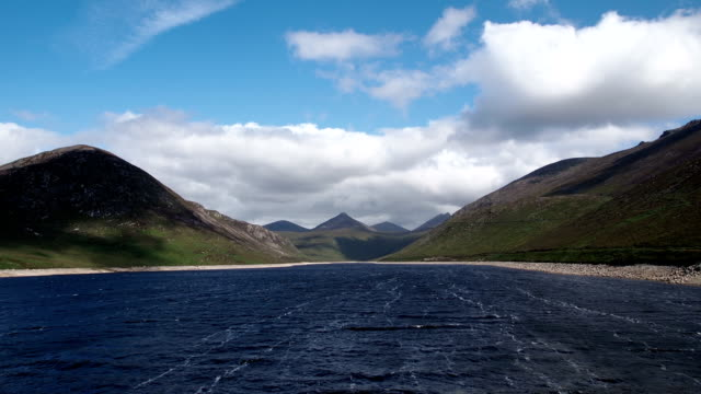 silent valley Reservoir in timelapse video