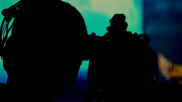 Silhouette Cameraman at Concert