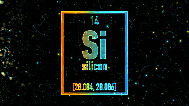 Silicon symbol as in the Periodic Table video
