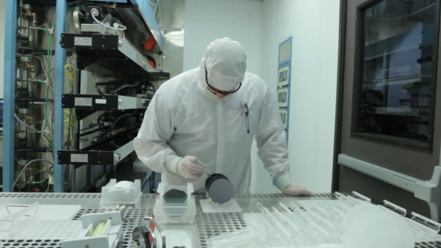Silicon Wafer Prep video