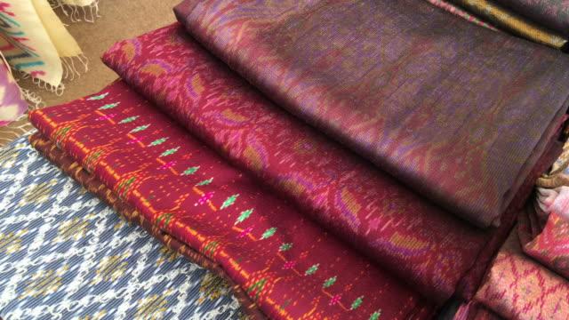 Silk fabric Close up of silk fabric silk stock videos & royalty-free footage
