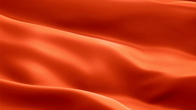 seide flagge animation von koralle farbe hintergrund video winken im wind. realistische tomaten flagge hintergrund. koralle rosa orange farbe flag looping closeup 1080p full hd filmmaterial. coral satin flagge - weiblichkeit stock-videos und b-roll-filmmaterial