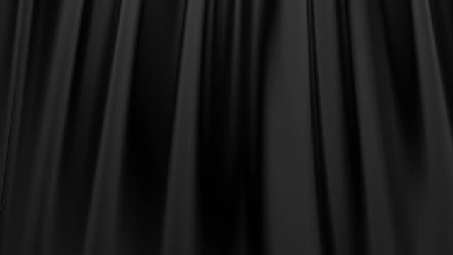 Silk satin elegant flowing background loop black video