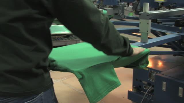 Silkscreening Operation video