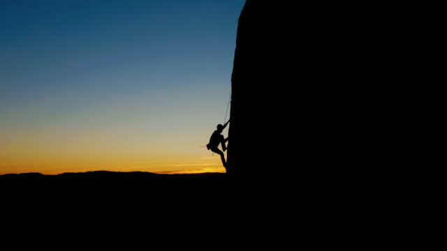 Sillhouette Rock Climbing
