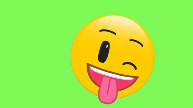 silliness face emoji - emoji video stock e b–roll