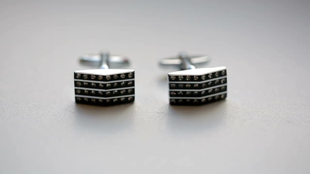 silver cuff links - prom fashion stock videos and b-roll footage