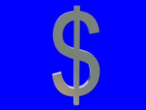 vídeos y material grabado en eventos de stock de silver dollar señal - accesorio financiero