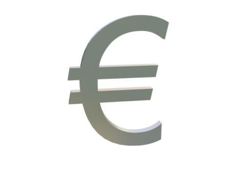 vídeos y material grabado en eventos de stock de plata euro señal - accesorio financiero