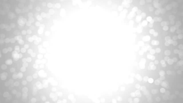 Silver glitter background - seamless loop, winter theme video