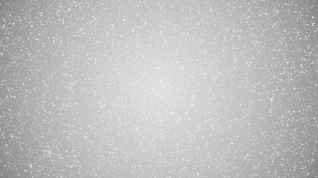 silver glitter sparkling background animation - argentato video stock e b–roll