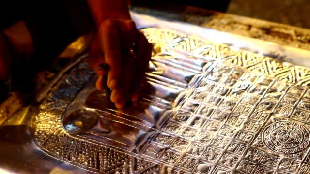 Silver handicrafts , Thailand