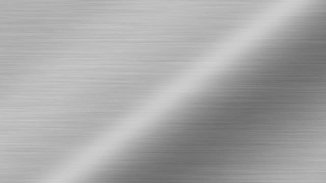 silver metal texture background stock video - cromo metallo video stock e b–roll