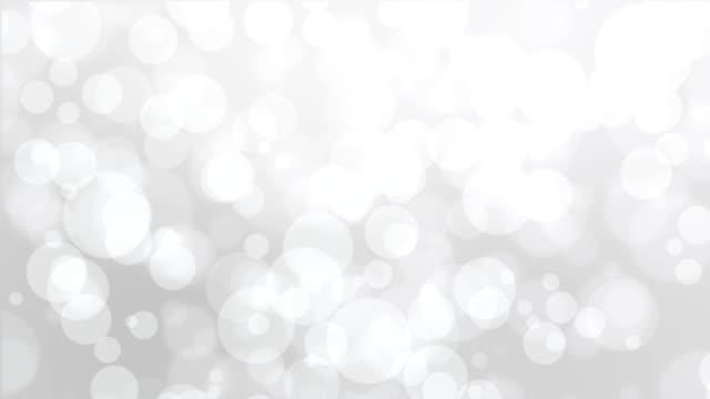 Silver white bokeh background video