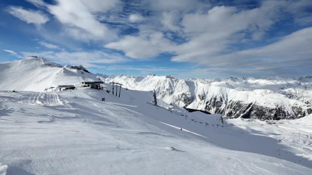 Silvretta Alps Winter View (Austria). video