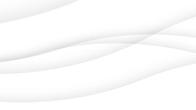 Video simple abstract white wavy trendy beautiful white curve background