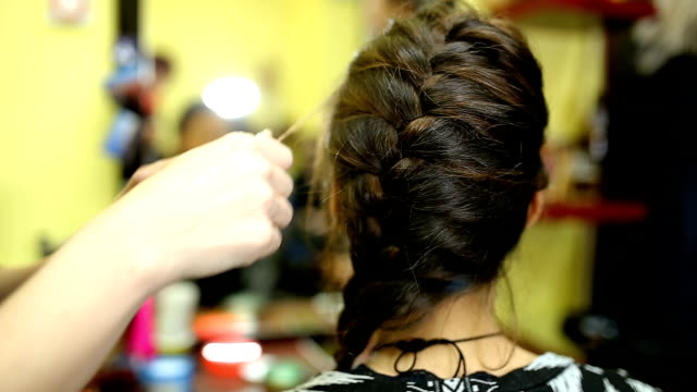 Simple Braided Hairstyle video