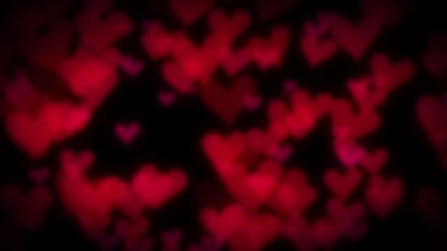 Simple heart shapes [loop]