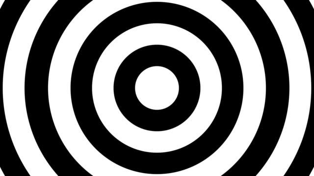 vídeos y material grabado en eventos de stock de fondo de bucle de polka dotabstract simple - lunares