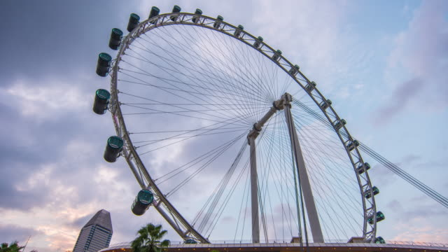 singapore flyer - sud est video stock e b–roll