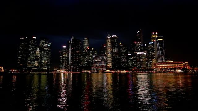 singapore nightlife - sierra leone video stock e b–roll