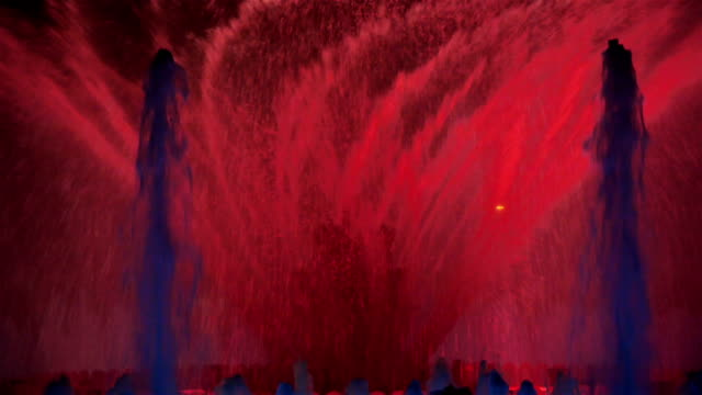 Singing fountains, Barcelona video