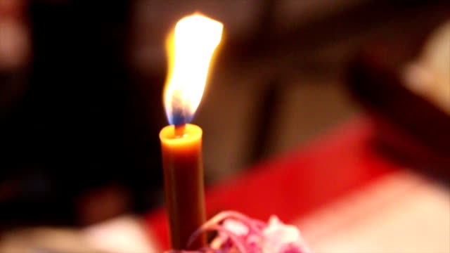 Single Church Candle video