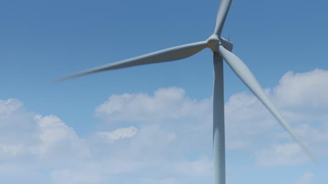 Single Wind Turbine video