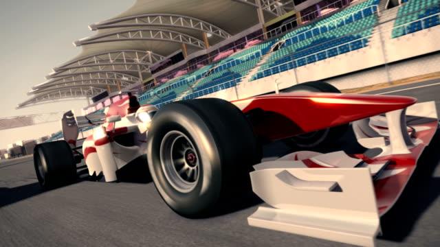 포뮬러 원 자동차 경주 - 레이싱 스톡 비디오 및 b-롤 화면
