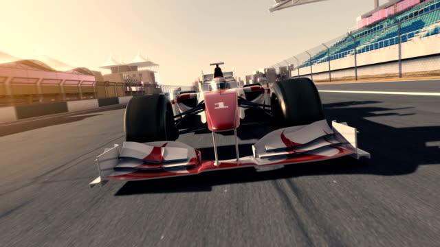 포뮬러 원 경주용 자동차 - 레이싱 스톡 비디오 및 b-롤 화면