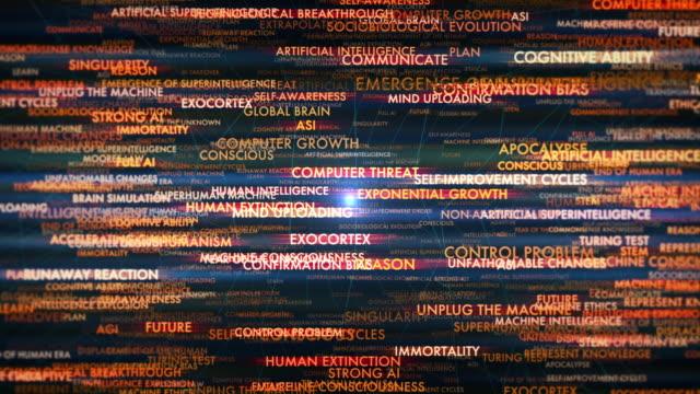 vídeos de stock e filmes b-roll de singularity terms - filosofia