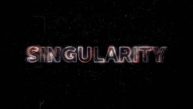 Singularity word animation