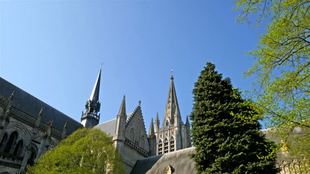 Sint Martin's cathedral, Ypres, Belgium video