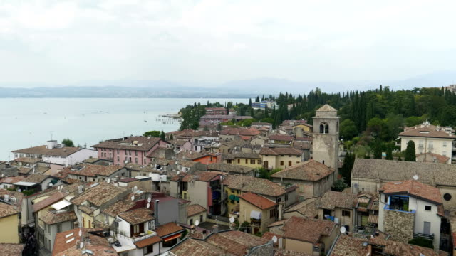 Sirmione Aerial View video