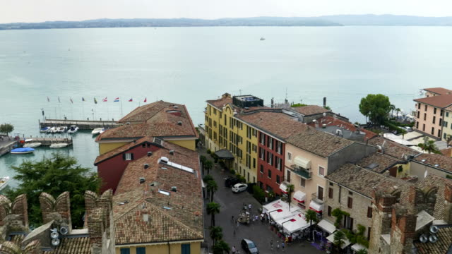 Sirmione Aerial View - video