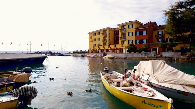 Sirmione italian town in Garda Lake