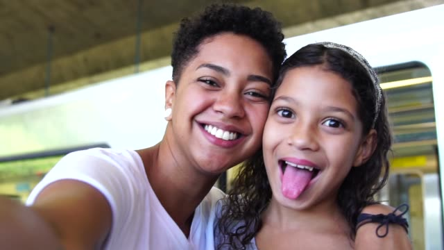 Sisters Taking a Selfie The True Love sister stock videos & royalty-free footage
