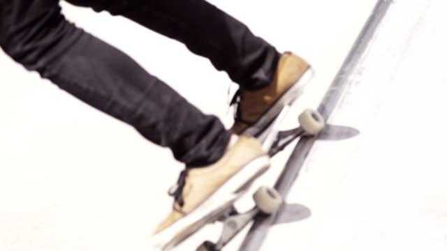 Skateboard Grind & Front Side Air video